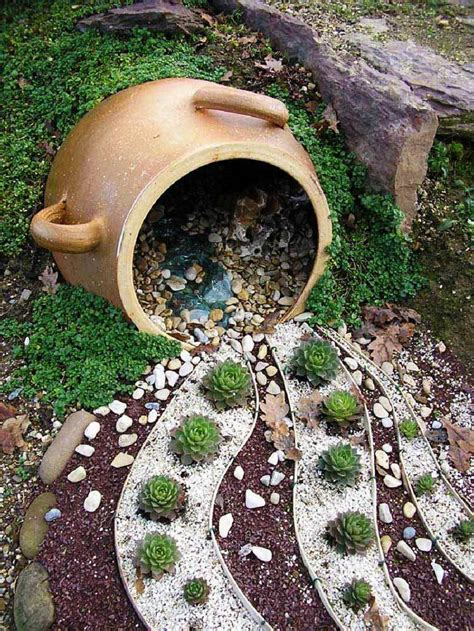 quiet cornereasy diy garden projects  stones quiet