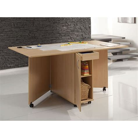 meuble n 176 35 90 table de coupe en finition bois coutureo