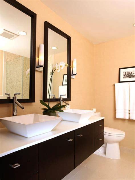 designer bathrooms gallery 12 designer bathrooms for less hgtv