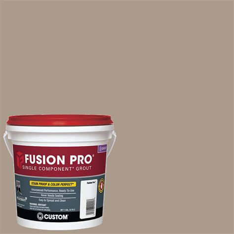 custom building products fusion pro 183 chateau 1 gal single component grout fp1831 2t the