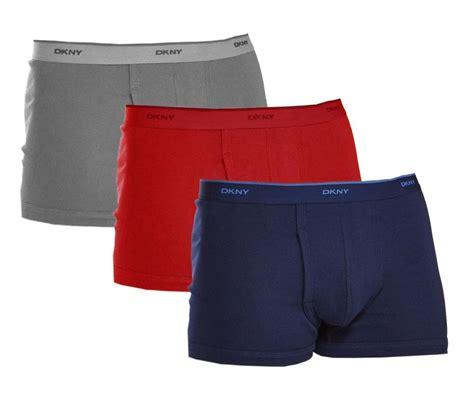 Dkny Men's 3 Pack Classic Boxers Briefs 100% Cotton