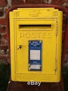 Boite Aux Lettres Vintage : vintage jolie boite aux lettres ptt la poste pour loft d co 1962 dejoie nantes ~ Teatrodelosmanantiales.com Idées de Décoration