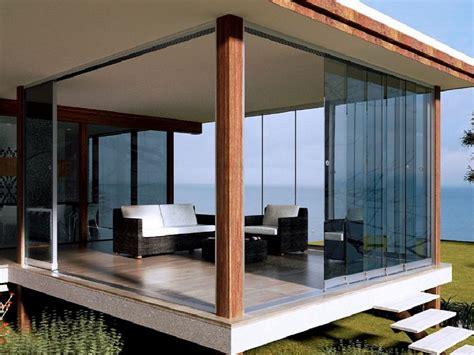 veranda vetrata vetrate scorrevoli per verande