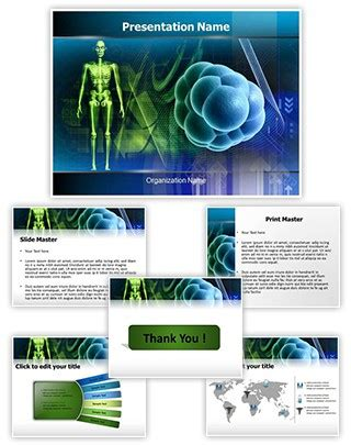 professional stem cells editable powerpoint template