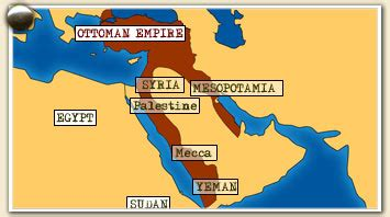 Map Of Ottoman Empire 1914 - of arabia emerging middle east ottoman sick