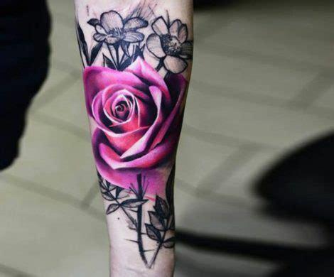 tattoos mit rosen die neuesten trends
