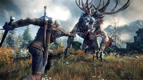 witcher  witcher  wild hunt wallpapers hd
