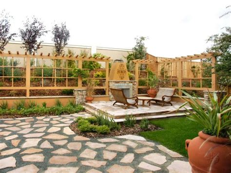 dividing outdoor areas  function hgtv