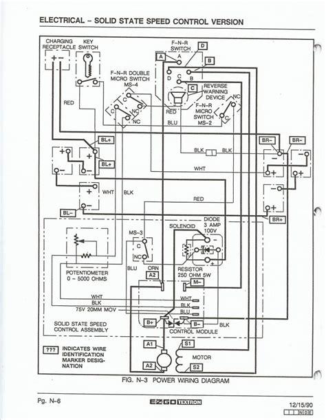 2008 ez go wiring diagram wiring diagram