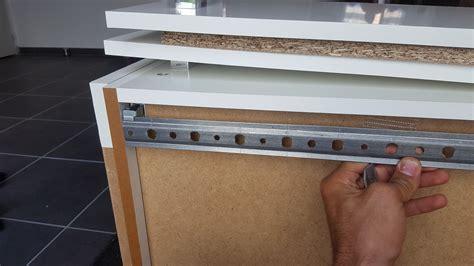 fixation meuble de cuisine fixation meuble haut sur faience placo ba13 hydro 6