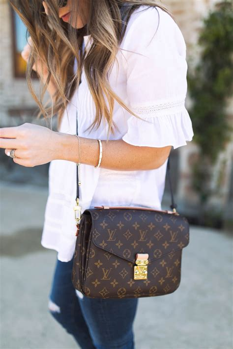 white tops  spring louis vuitton monogram louis vuitton crossbody bag louis vuitton