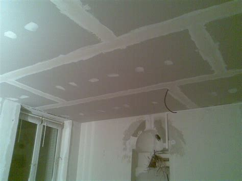 faire un faux plafond en placo images