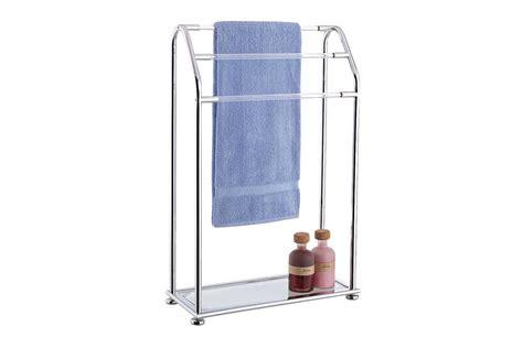 bathroom ideas for apartments free standing towel racks homesfeed