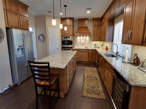 rectangle shaped kitchen design bringing catchy kitchen style through the simplicity of 4539