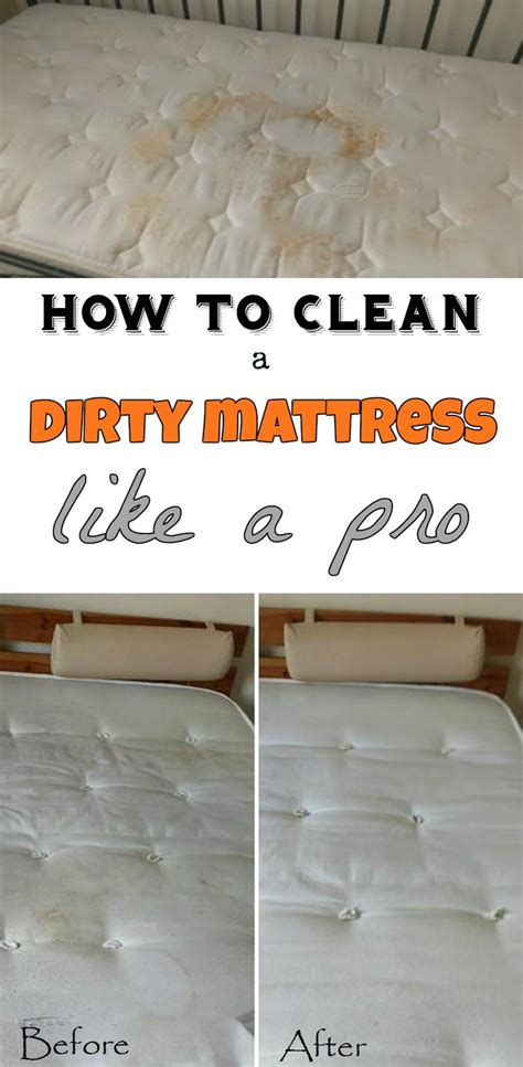 How To Clean A Dirty Mattress Like A Pro  Getcleaningtipsnet