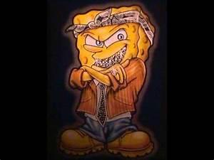 SpongeBob Squarepants Gangster Swag Beat - YouTube