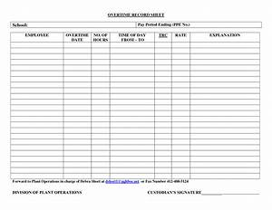 wonderful ppe register template ideas resume ideas With overtime log template