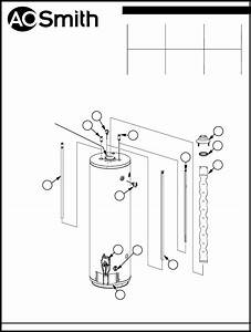 A O  Smith Water Heater Xcv 201 User Guide