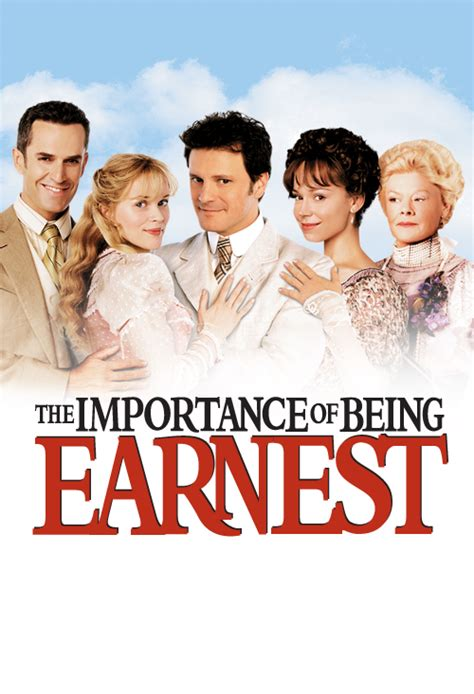The Importance Of Being Earnest  Official Site Miramax