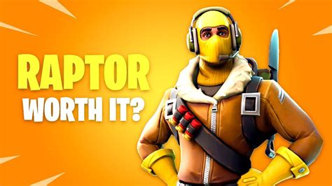 Is Raptor Skin Worth It? Fortnite Battle Royale Daily