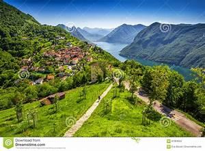 San Salvatore Lugano : citt di lugano lago lugano e monte san salvatore da monte bre il ticino svizzera fotografia ~ Markanthonyermac.com Haus und Dekorationen