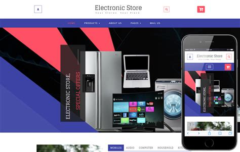 online shopping websites templates free