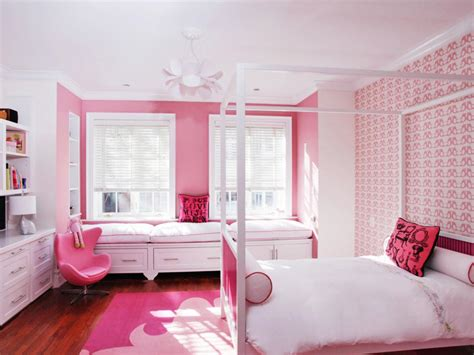 pink wallpaper for bedroom صور ديكورات غرف بنات احدث كتالوج لألوان غرف البنات ميكساتك 16758   بنات 1