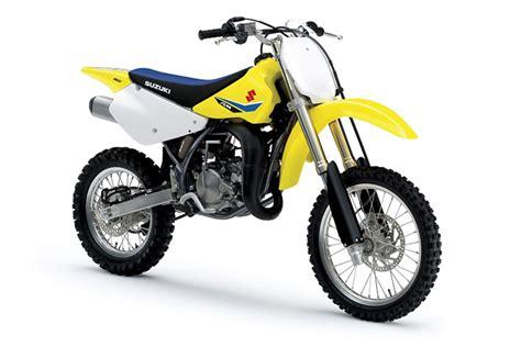 Suzuki Dirt Bike by Suzuki 2018 Rm85 Dirt Bike Review Price Specs Bikes Catalog