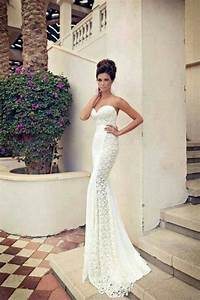 lace tight fit wedding gown 2015 10 10 the gown veil With tight fitted wedding dresses