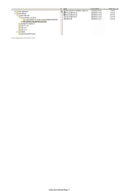 Palm Desktop 4.2 with Windows 10 - Hotsync problem - HP