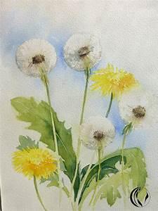Aquarell Malen Blumen : pusteblume aquarell sonja jannichsen malen am meer ~ Articles-book.com Haus und Dekorationen