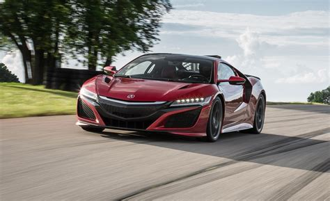 2018 Acura Nsx  Indepth Model Review  Car And Driver