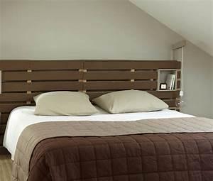 Idee De Tete De Lit : tete de lit a faire soi meme en bois avec modele de tete de lit a faire soi meme home design ~ Teatrodelosmanantiales.com Idées de Décoration