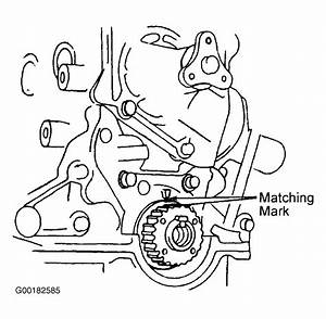 1988 Mercury Tracer Serpentine Belt Routing And Timing