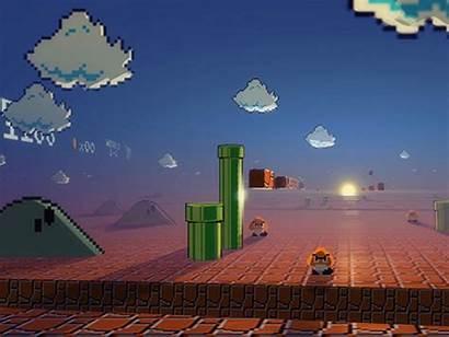 Mario Retro Wallpapers Nintendo Bros Games Desktop