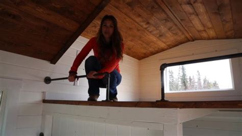 build triple bunk beds   tiny house