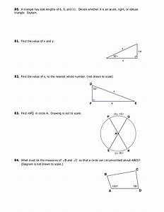 19 Find The Value Of X Round To The Nearest Tenth The