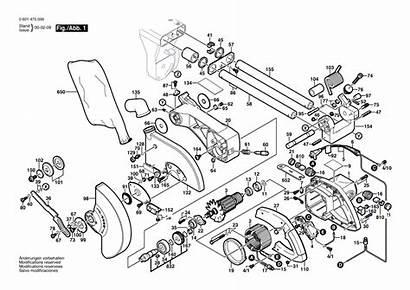 Bosch 3915 Saw Miter Parts Diagram Inch