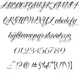 incredibly cool tattoo fonts