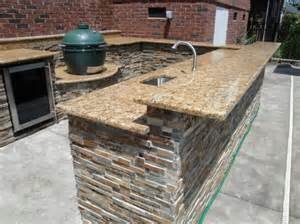outdoor kitchen countertops ideas outdoor kitchen designs dazzling u shaped outdoor kitchen designs with sunset gold granite