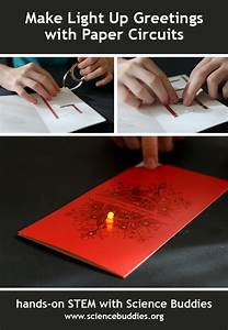 Paper Circuits Bring Light To Seasonal Greetings