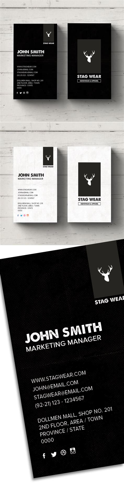 vertical business card template photoshop freebie vertical business card psd template idevie