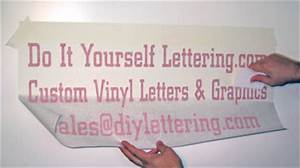 installation instructions doityourselfletteringcom With do it yourself vinyl lettering