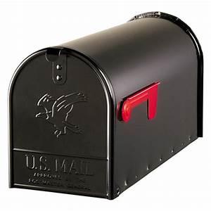 Boite Aux Lettres Americaine : postmaster black metal mailbox lowe 39 s canada ~ Dailycaller-alerts.com Idées de Décoration