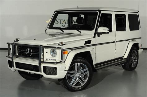 mercedes jeep white 2013 mercedes benz g class g63 amg 5 5l supercharged v8