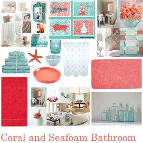 Coral Color Bathroom Decor by Bathroom Bathrooms