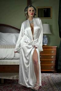 380 best satin elegance images on pinterest silk satin With mature robe