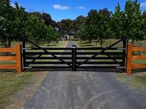 Country Driveway Entrance Gates