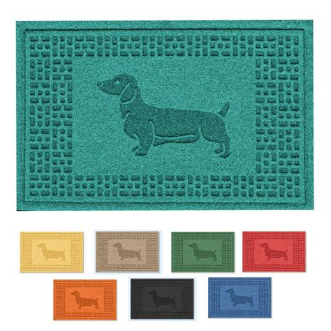 Dachshund Doormat by Colorful Wiener Doormat Dachshund Welcome Mats The