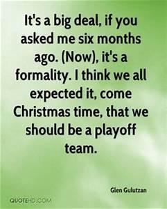 Glen Gulutzan Christmas Quotes | QuoteHD